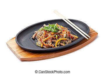 Yasai Soba,  japanese cuisine