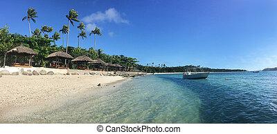 Yasawa, Isole, paesaggio