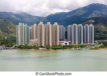 Yat Tung Estate, Lantau Island - Yat Tung Estate is small in...