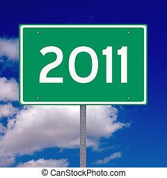 Year 2011 ahead