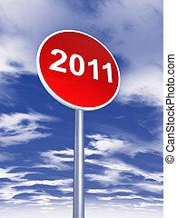 year 2011 banner