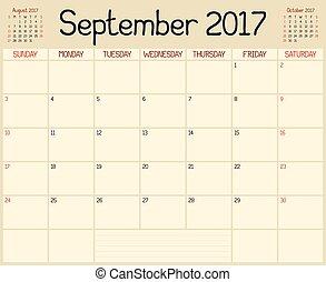 practical wall planner september 2019 year flat useful calendar