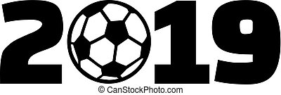 2019 with soccer ball