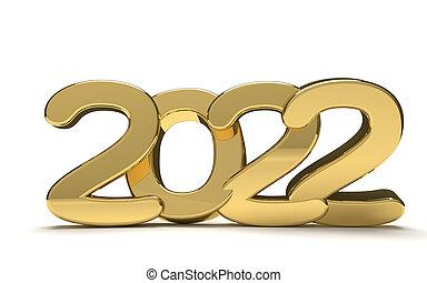 Happy new year 2022 Stock Phot...