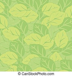 Year decorative background from green foliage tree
