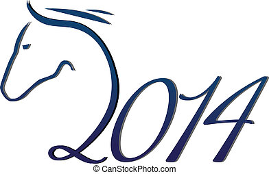 Year of horse - 2014