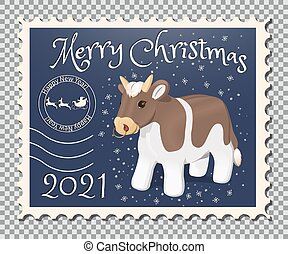 Year of the bull stamp
