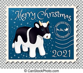 Year of the bull stamp2
