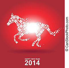 Year of the horse, Chinese New Year.