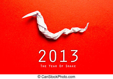 Year of the Snake design 2013 Chinese Year of the Snake