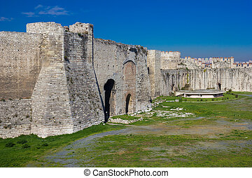 Yedikule Hisarlar? (Seven Towers Fortress) in Istanbul, Turkey