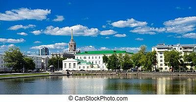 yekaterinburg, cityscape