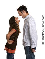 Yelling Angry Couple