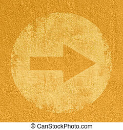 yellow Abstract Arrow Background