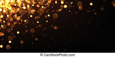Yellow abstract background.