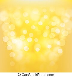 yellow abstract background with blurred light effects. vector