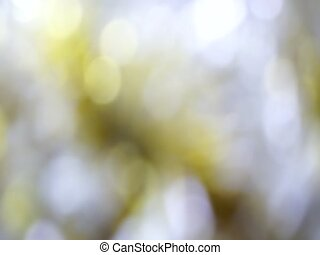 Yellow Abstract blured light bokeh lights rotation...