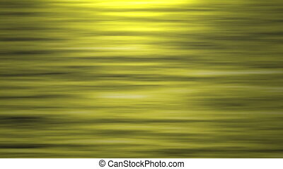 Yellow Abstract Fractal Lines.