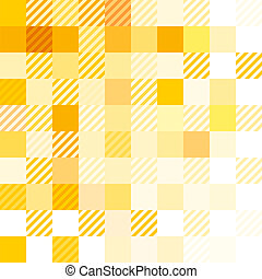 Yellow Abstract Matter
