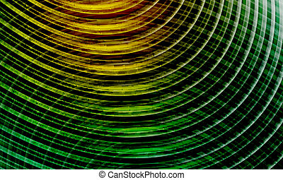 yellow and green vector abstract background