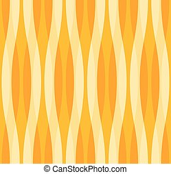 Yellow and Orange Abstract Wavy Background