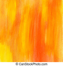 yellow and orange painted texture
