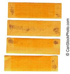 tape stripes - yellow and orange tape stripes - add analogue...