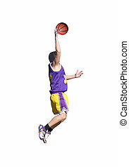 yellow and purple dunk