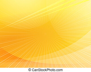Yellow Background - Smooth wavy presentation background full...