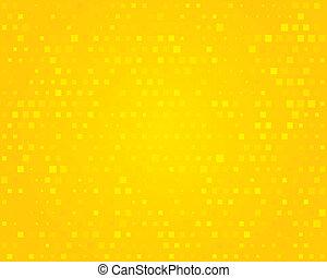 Yellow background. Vector illustration.