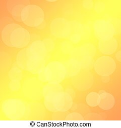 Yellow background with a bokeh for design