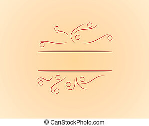 yellow background with lines