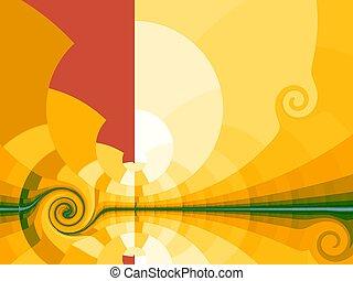 Stylized sun Illustrations and Stock Art. 12,007 Stylized ...