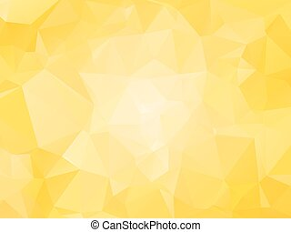 yellow background with triagles