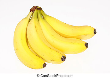 Yellow bananas