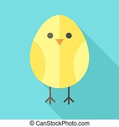 Yellow bird chicken