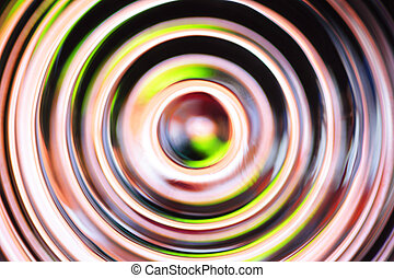 Yellow - black abstract background
