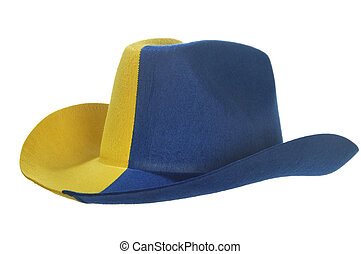 777c2ae73ec Inverted cowboy hat. Inverted red cowboy hat as a original flower ...