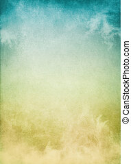 Yellow Blue Mist - Fog, mist, and clouds with a yellow to ...