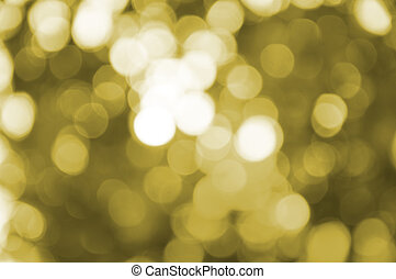 Yellow blur light bokeh background