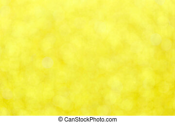 yellow bokeh abstract of pattern background.