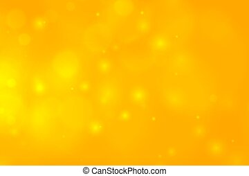 yellow bokeh background with sparking lights design