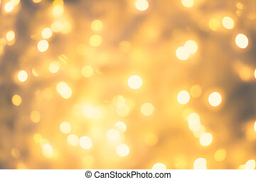Yellow Bokeh for background