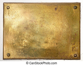 Yellow brass metal plate border - Brass yellow metal plate...