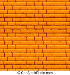 Yellow Brick Wall Seamless Texture