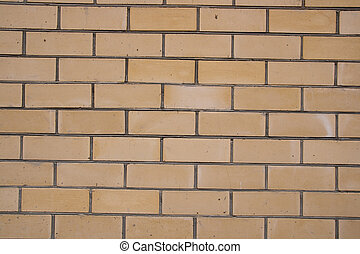 Yellow Brick Wall Texture / Background