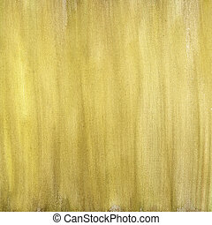 yellow brown painted abstract