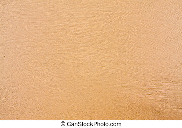 Yellow brown sand on the beach