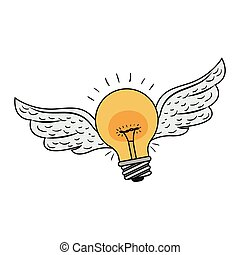 yellow bulb light