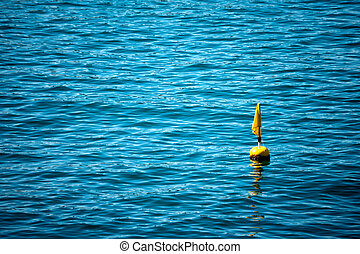 Yellow Buoy for Fishing Net